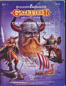 Northern Reaches, TSR, D&D, Dungeons and Dragons, game, game modules