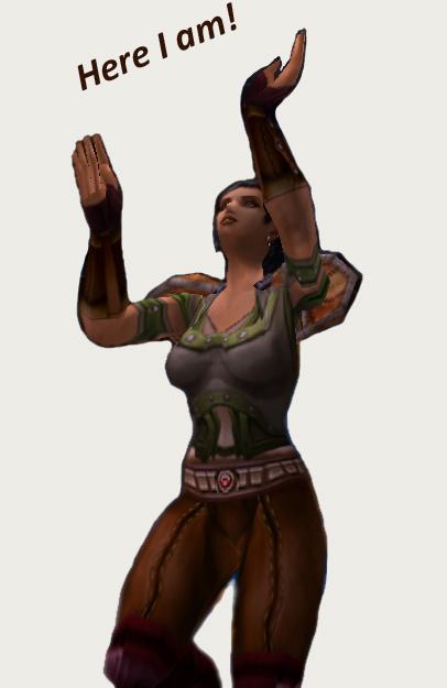 happy, cheering, avatar, WoW, world of warcraft