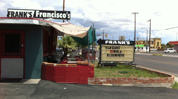Frank's, Francisco's, greasy spoon, diner, great grub