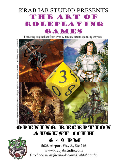 fantasy, studio, art exhibit, science fiction, gaming, games, role playing, D&D, Middle Earth