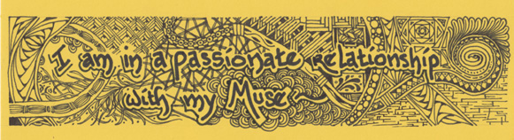 Muse, patterns, Zentangle, design, drawing