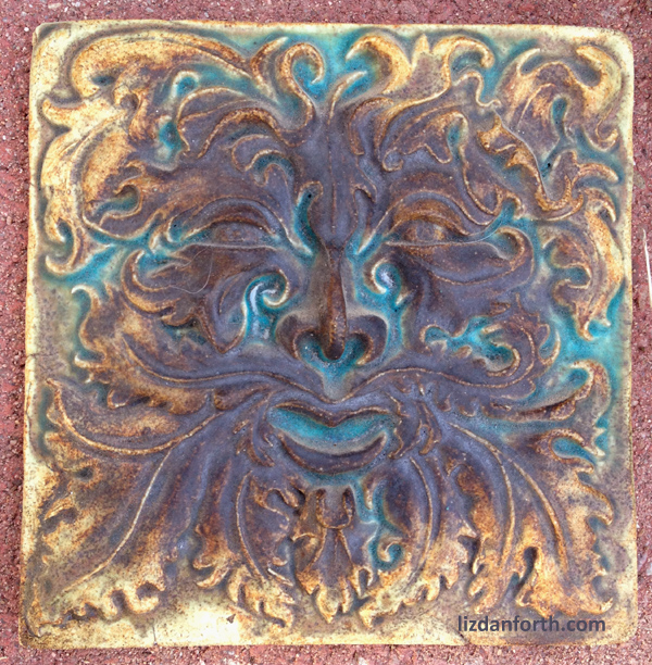 Greenman tile