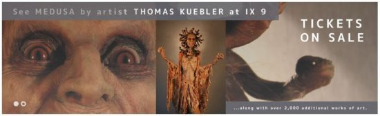 medusa illuxcon Kuebler art sculpture fantasy imaginative-realism