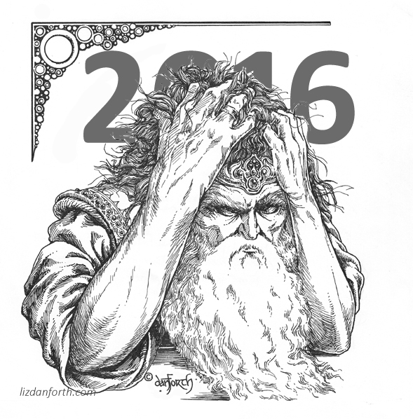 2016, the old year, despair, grief, loss, endings, new beginnings