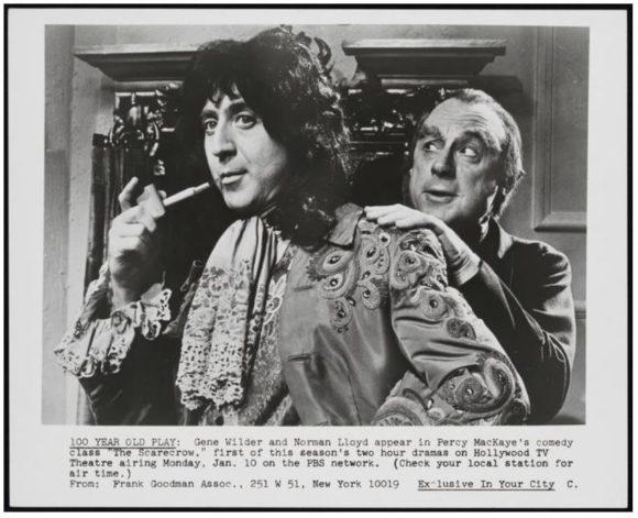 Gene Wilder, Scarecrow, Ravensbane, Norman Lloyd, celebrity, 2016, fandom, PBS