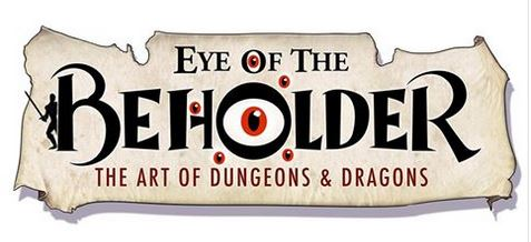 """Logo for movie """"Eye of the Beholder - the Art of Dungeons and Dragons."""""""